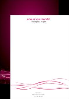 personnaliser modele de affiche rose rose fushia couleur MLGI72438
