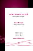 creer modele en ligne carte de visite rose rose fushia couleur MLGI72446