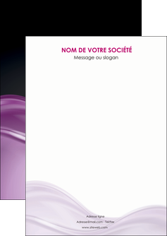 faire modele a imprimer flyers web design violet fond violet couleur MLGI72506