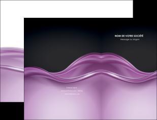 creation graphique en ligne pochette a rabat web design violet fond violet couleur MLGI72514