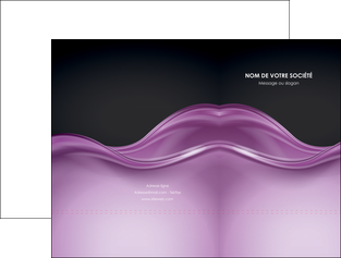 modele pochette a rabat web design violet fond violet couleur MLGI72516