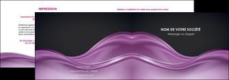 maquette en ligne a personnaliser depliant 2 volets  4 pages  web design violet fond violet couleur MLGI72518