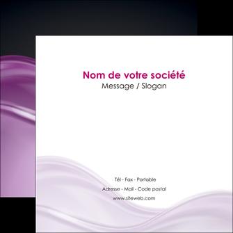 cree flyers web design violet fond violet couleur MLGI72534
