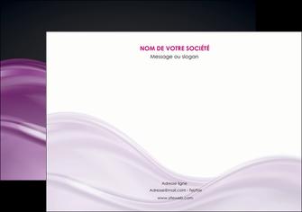 personnaliser maquette flyers web design violet fond violet couleur MLGI72536