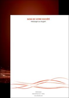 personnaliser modele de affiche rouge couleur couleurs MIS72728