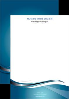modele affiche web design bleu fond bleu couleurs froides MIF72780