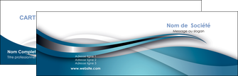 imprimerie carte de visite web design bleu fond bleu couleurs froides MIF72786