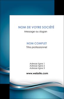 creation graphique en ligne carte de visite web design bleu fond bleu couleurs froides MIF72788