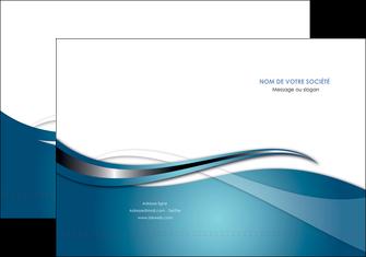 faire pochette a rabat web design bleu fond bleu couleurs froides MIF72790