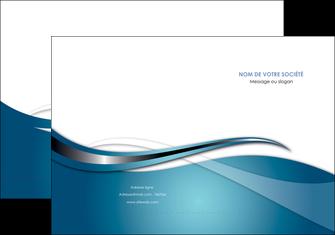 creer modele en ligne pochette a rabat web design bleu fond bleu couleurs froides MIF72792