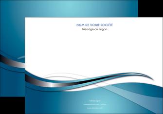 personnaliser maquette affiche web design bleu fond bleu couleurs froides MIF72800