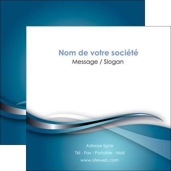 exemple flyers web design bleu fond bleu couleurs froides MIF72812