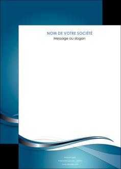 modele affiche web design bleu fond bleu couleurs froides MIF72822