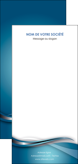 creer modele en ligne flyers web design bleu fond bleu couleurs froides MIF72828