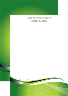 exemple affiche web design vert fond vert verte MLGI73058