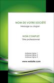 faire modele a imprimer carte de visite web design vert fond vert verte MLIP73066