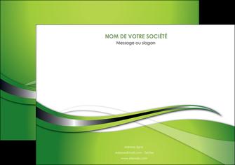 faire affiche web design vert fond vert verte MLGI73074