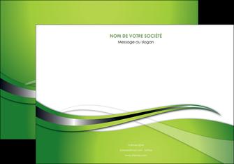 personnaliser modele de affiche web design vert fond vert verte MLGI73078