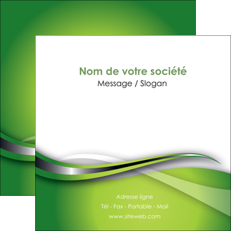personnaliser modele de flyers web design vert fond vert verte MLGI73090