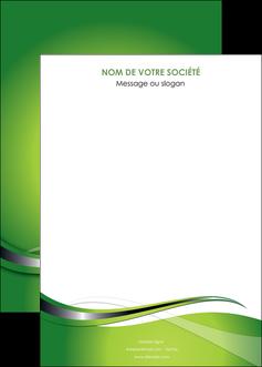 creer modele en ligne affiche web design vert fond vert verte MLGI73100