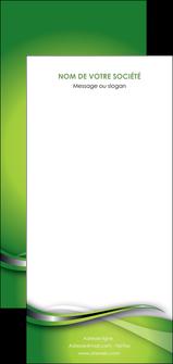 personnaliser maquette flyers web design vert fond vert verte MLGI73106