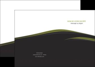 imprimer pochette a rabat web design noir fond noir image de fond MLGI73120