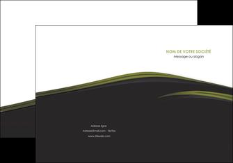 personnaliser modele de pochette a rabat web design noir fond noir image de fond MLGI73122