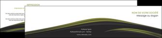 personnaliser maquette depliant 2 volets  4 pages  web design noir fond noir image de fond MLGI73144