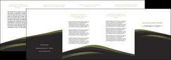 personnaliser modele de depliant 4 volets  8 pages  web design noir fond noir image de fond MLGI73150