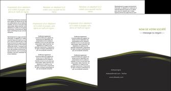 creation graphique en ligne depliant 4 volets  8 pages  web design noir fond noir image de fond MLGI73154