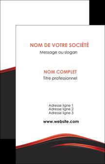 modele carte de visite web design noir fond noir image de fond MIF73222