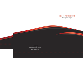 imprimer pochette a rabat web design noir fond noir image de fond MIF73224