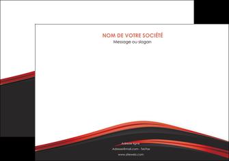 personnaliser modele de affiche web design noir fond noir image de fond MIF73230