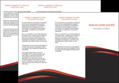 maquette en ligne a personnaliser depliant 3 volets  6 pages  web design noir fond noir image de fond MIF73238