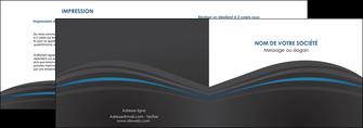 creer modele en ligne depliant 2 volets  4 pages  web design gris fond gris fond gris metallise MLIG73332