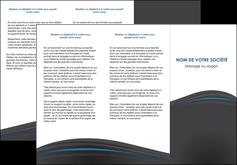imprimer depliant 3 volets  6 pages  web design gris fond gris fond gris metallise MIF73342