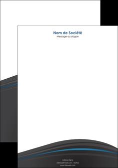 imprimerie tete de lettre web design gris fond gris fond gris metallise MIF73348