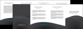 creer modele en ligne depliant 4 volets  8 pages  web design gris fond gris fond gris metallise MIF73358