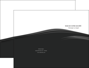 imprimer pochette a rabat web design gris fond gris metal MLGI73486
