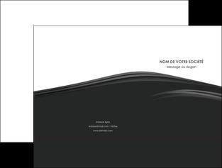personnaliser maquette pochette a rabat web design gris fond gris metal MLGI73488