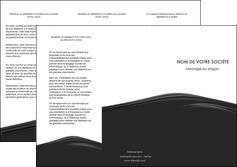 modele depliant 3 volets  6 pages  web design gris fond gris metal MLGI73500