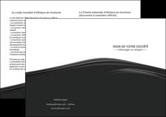 personnaliser maquette depliant 2 volets  4 pages  web design gris fond gris metal MLGI73514
