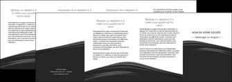 creer modele en ligne depliant 4 volets  8 pages  web design gris fond gris metal MLGI73524
