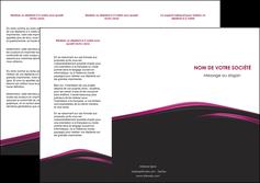 creer modele en ligne depliant 3 volets  6 pages  noir fond noir image de fond MLIGBE73552