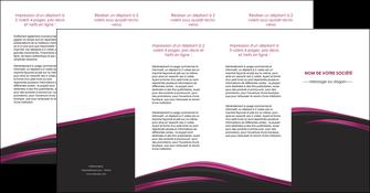 personnaliser modele de depliant 4 volets  8 pages  noir fond noir image de fond MLGI73574
