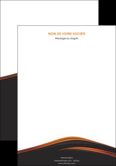 creer modele en ligne affiche web design gris fond gris orange MLGI73584
