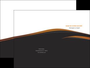 creer modele en ligne pochette a rabat web design gris fond gris orange MLGI73590