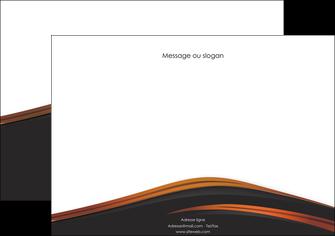 maquette en ligne a personnaliser affiche web design gris fond gris orange MLGI73600