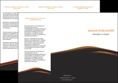 modele en ligne depliant 3 volets  6 pages  web design gris fond gris orange MLGI73604