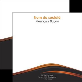 impression flyers web design gris fond gris orange MLGI73610